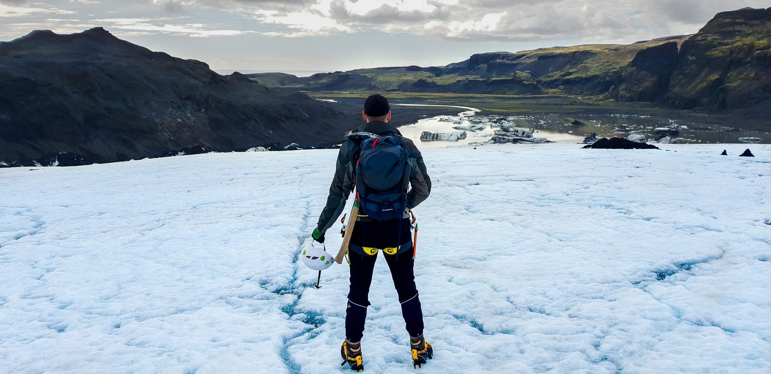 Glacier Hike, Black Sand Beach & Waterfalls Tour