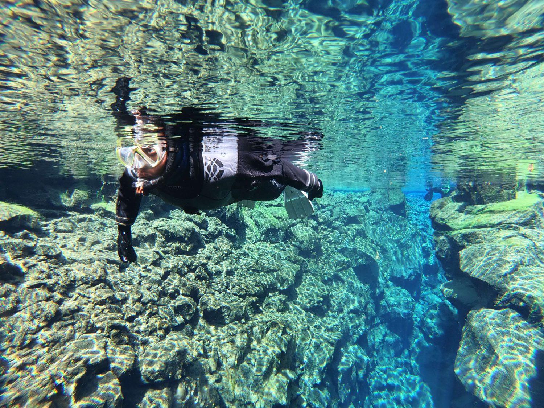 Drysuit Snorkeling in Silfra