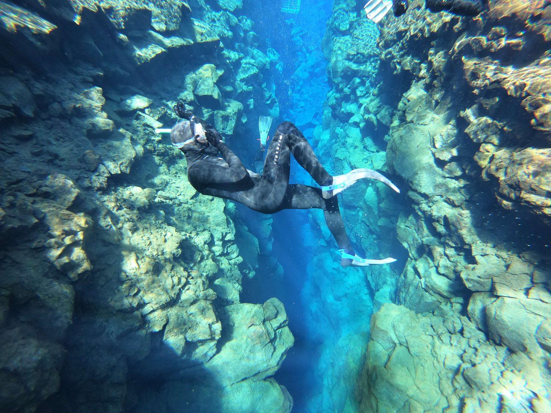 Wetsuit Snorkeling in Silfra