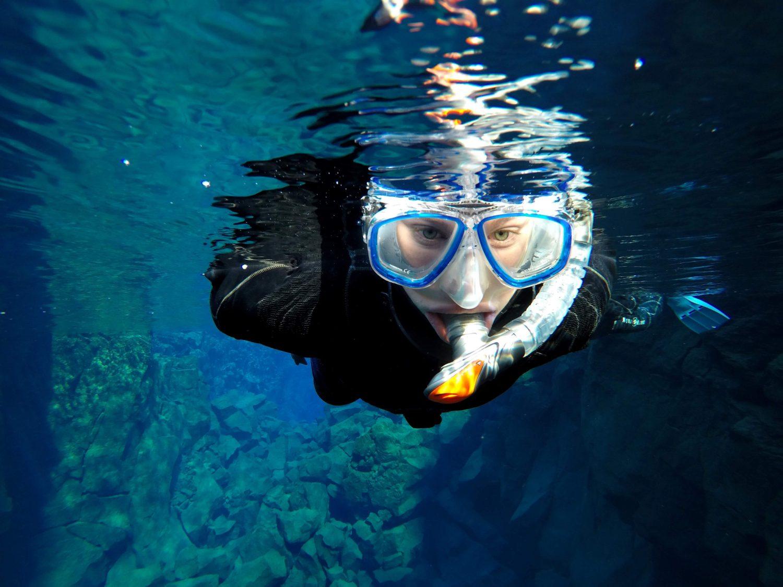 Drysuit Snorkeling in Silfra Iceland